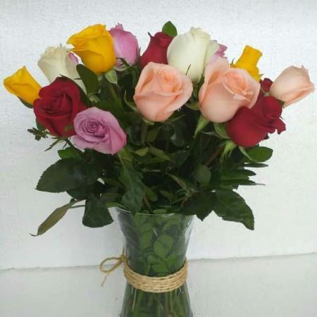 Floreros variados